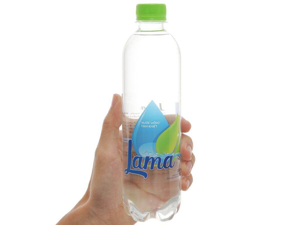 6 chai nước tinh khiết Lama 500ml 2
