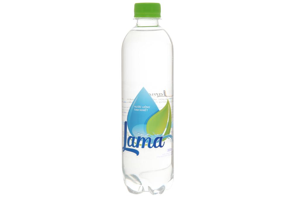 6 chai nước tinh khiết Lama 500ml 3