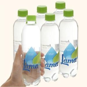 Lốc 6 chai nước tinh khiết Lama 500ml