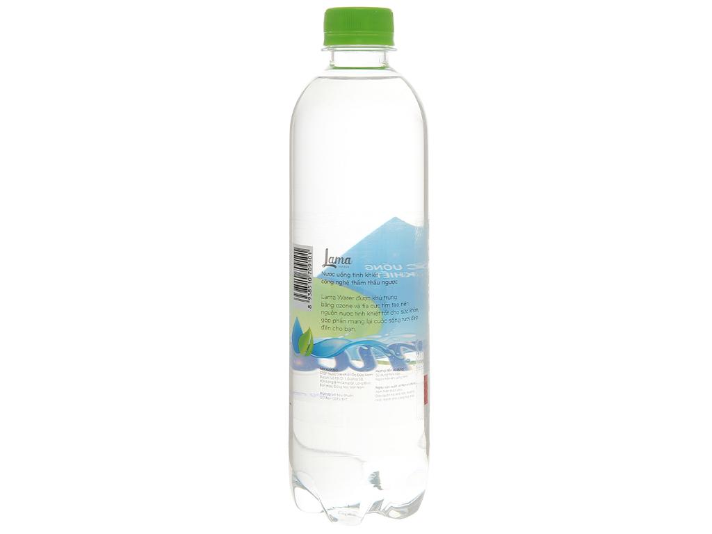 Thùng 24 chai nước tinh khiết Lama 500ml 4