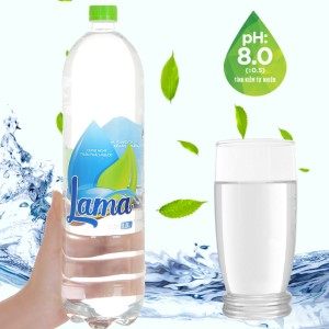 Nước tinh khiết Lama 1.5 lít