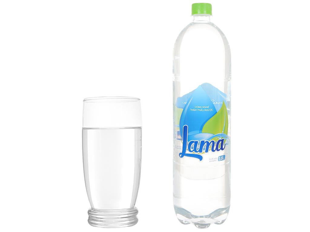 6 chai nước tinh khiết Lama 1.5 lít 5