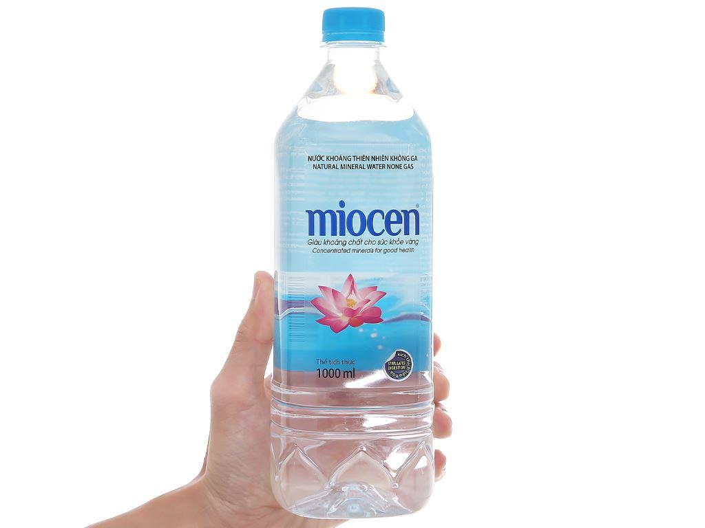 Nước khoáng thiên nhiên không ga Miocen 1 lít 4