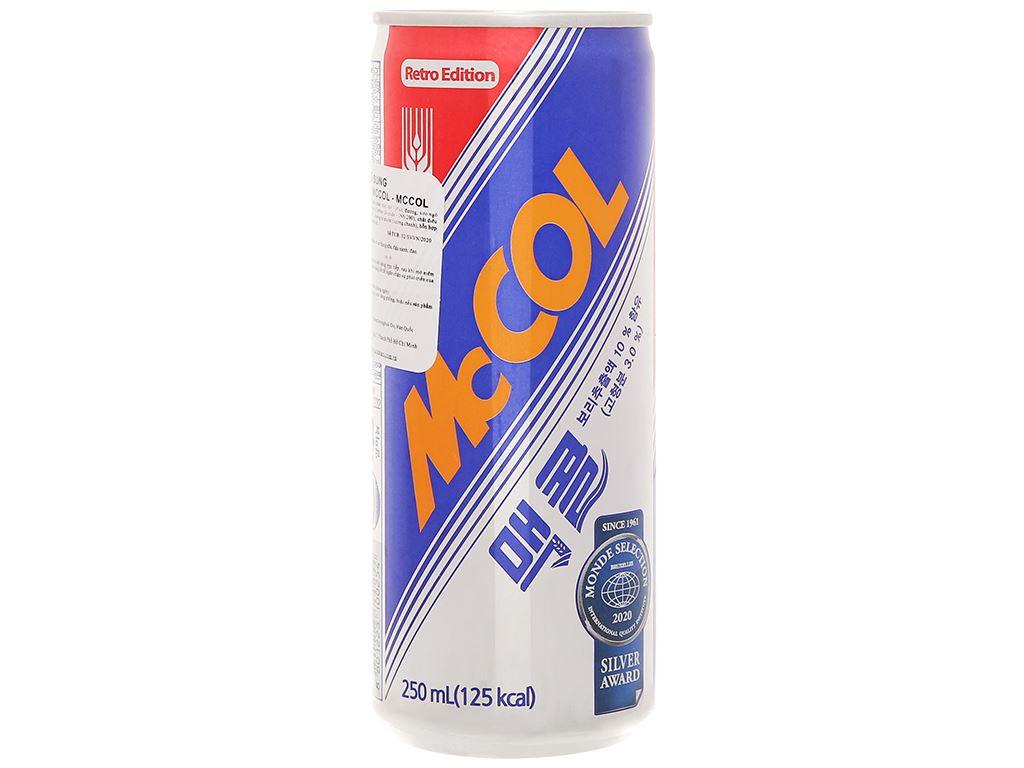 Nước khoáng Mc Col hương lúa mạch 250ml 2