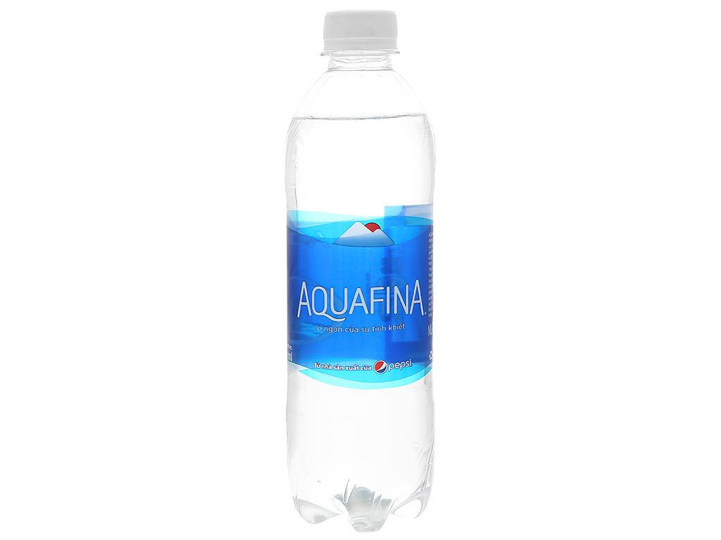 Thùng 28 chai nước tinh khiết Aquafina 500ml 2