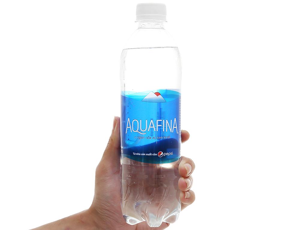 Thùng 28 chai nước tinh khiết Aquafina 500ml 6