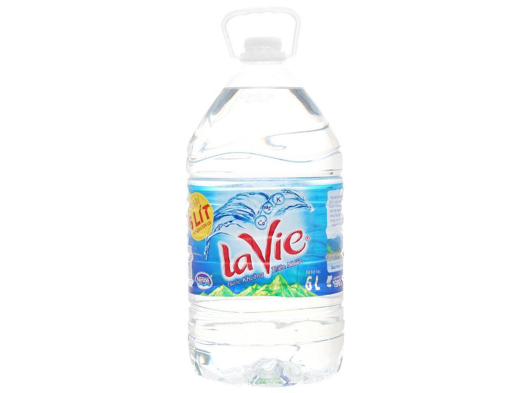 Nước khoáng La Vie 6 lít 1