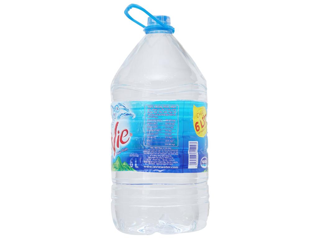 Nước khoáng La Vie 6 lít 2