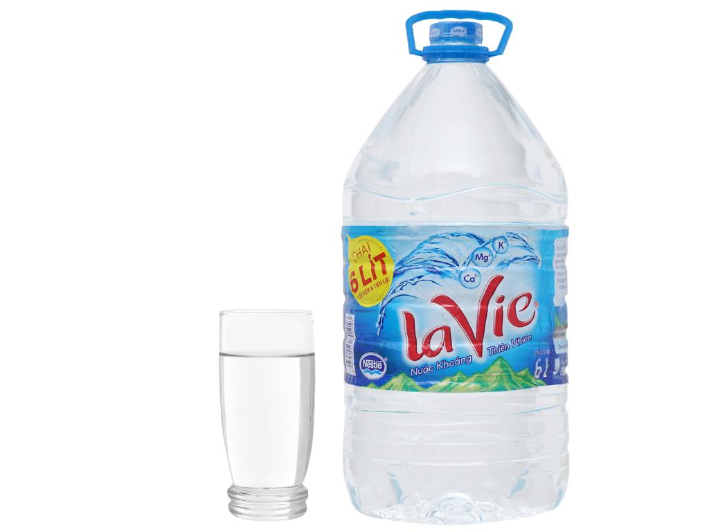 Nước khoáng La Vie 6 lít 3