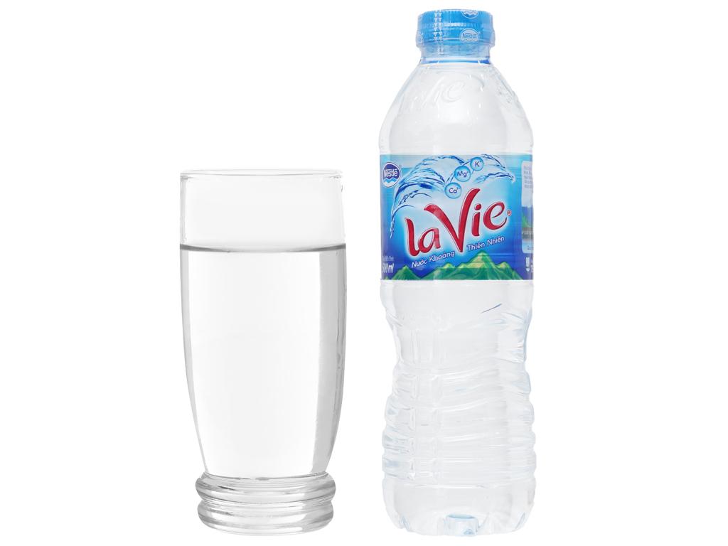 Nước khoáng La Vie 500ml 3