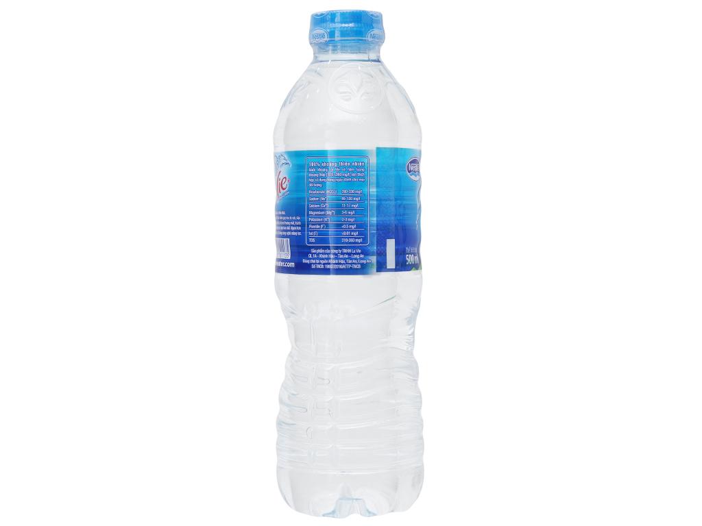 Nước khoáng La Vie 500ml 2