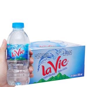 Thùng 24 chai nước khoáng La Vie 350ml