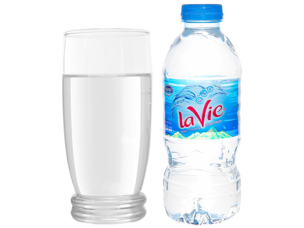 Thùng 24 chai nước khoáng La Vie 350ml 6