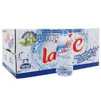 Thùng nước khoáng Lavie chai 350ml (24 chai)