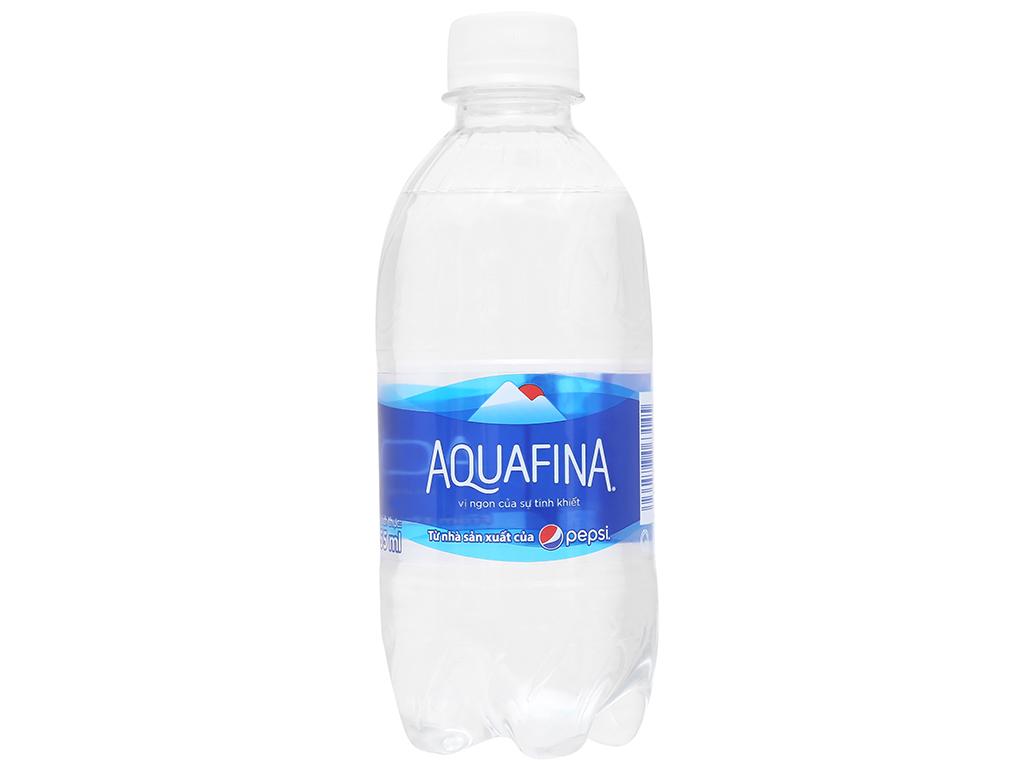 Nước tinh khiết Aquafina 355ml 1