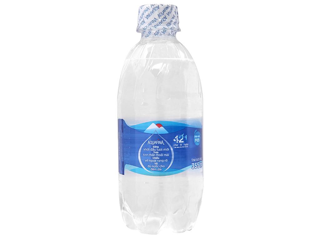 Nước tinh khiết Aquafina 355ml 2