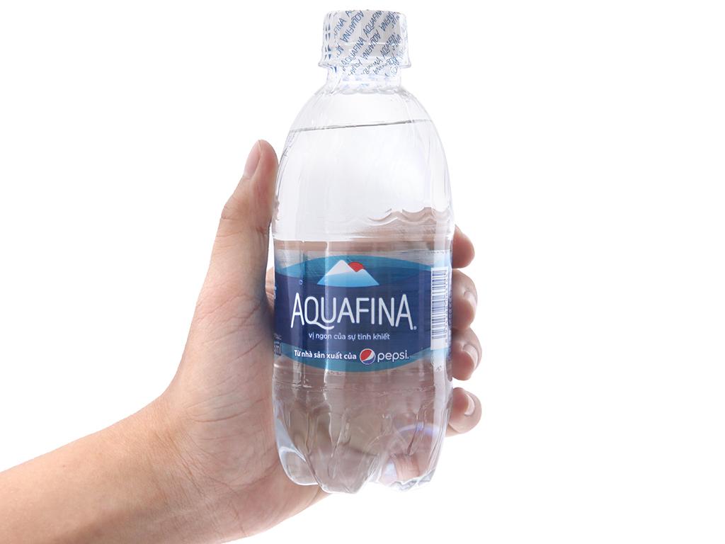 Nước tinh khiết Aquafina 355ml 4