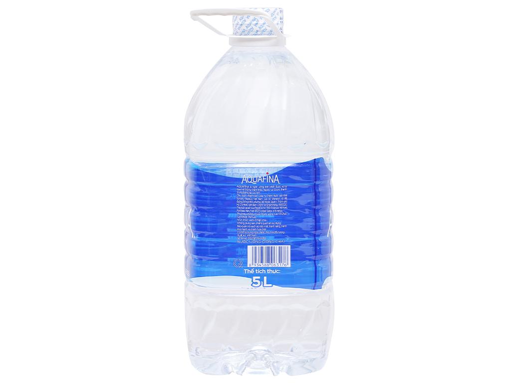 Nước tinh khiết Aquafina 5 lít 2