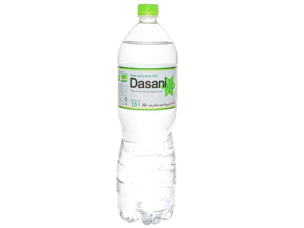 Nước tinh khiết Dasani 1.5 lít 1