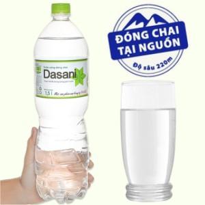 Nước tinh khiết Dasani 1.5 lít