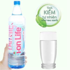 Nước uống i-on kiềm Akaline I-on Life 1.25 lít