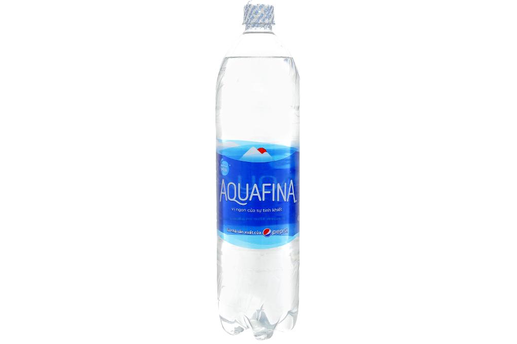 Thùng 12 chai nước tinh khiết Aquafina 1.5 lít 2