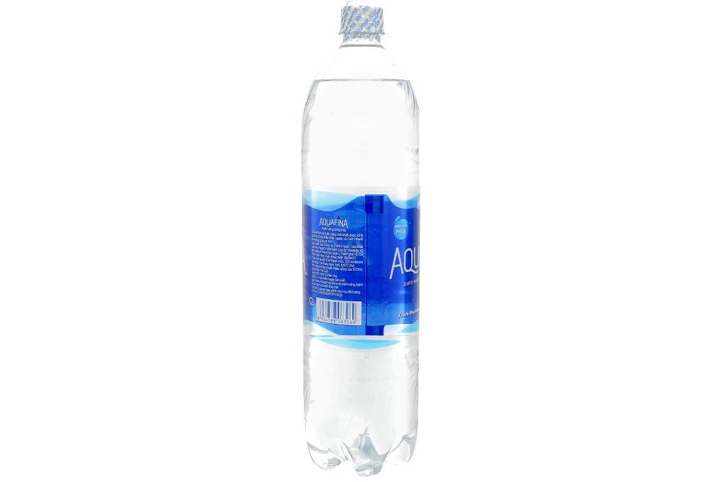Thùng 12 chai nước tinh khiết Aquafina 1.5 lít 3