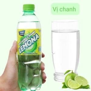 Nước khoáng có ga Vĩnh Hảo Lemona vị chanh 500ml