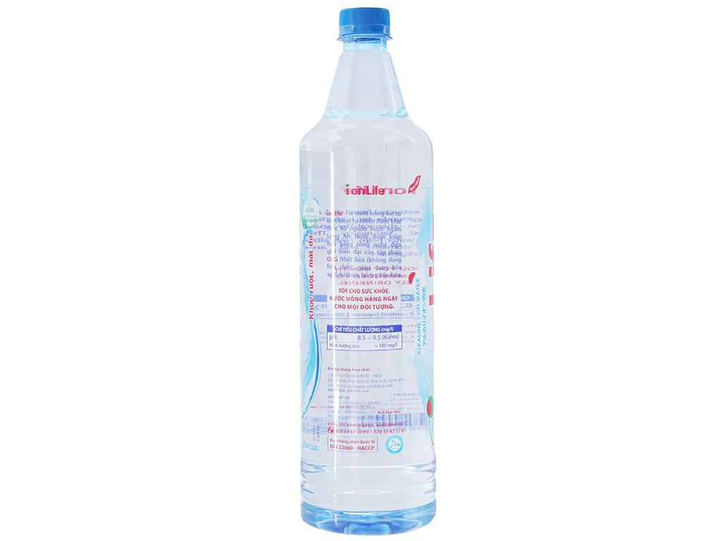 Thùng 12 chai nước khoáng I-on Life 1.25 lít 3