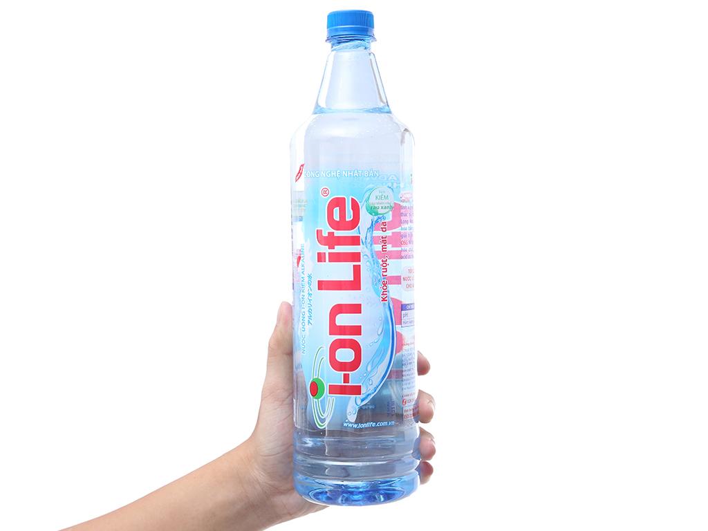 Thùng 12 chai nước khoáng I-on Life 1.25 lít 4