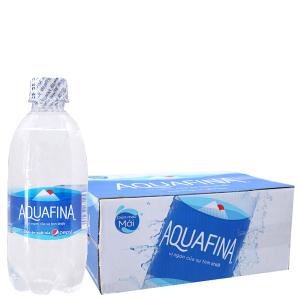 Thùng 24 chai nước tinh khiết Aquafina 355ml