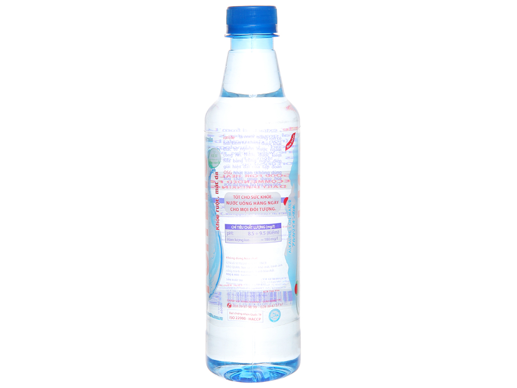 Thùng 24 chai nước uống i-on kiềm Akaline I-on Life 450ml 3