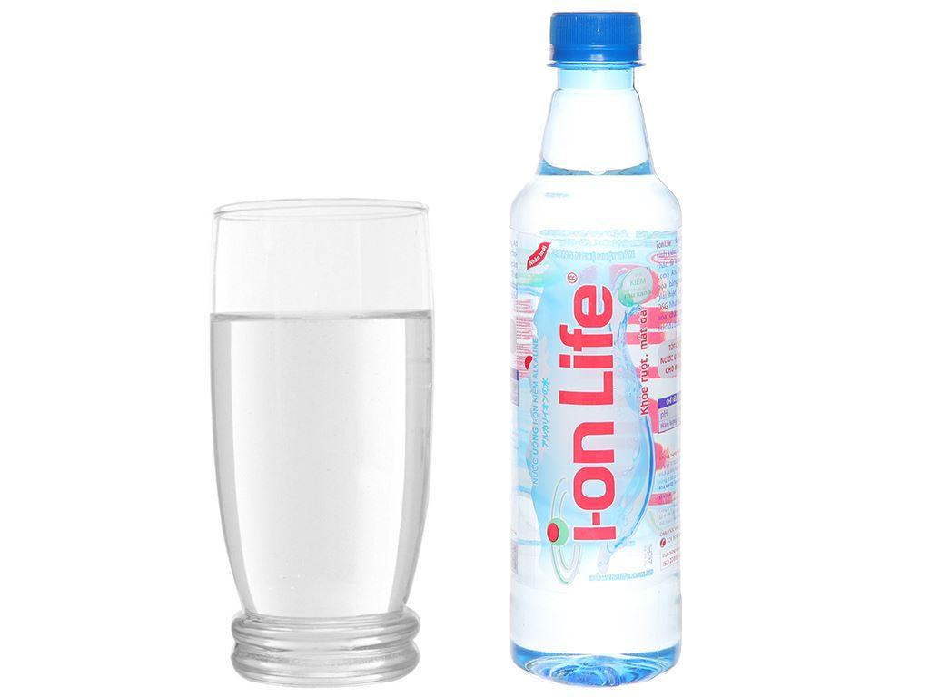 Thùng 24 chai nước uống i-on kiềm Akaline I-on Life 450ml 6