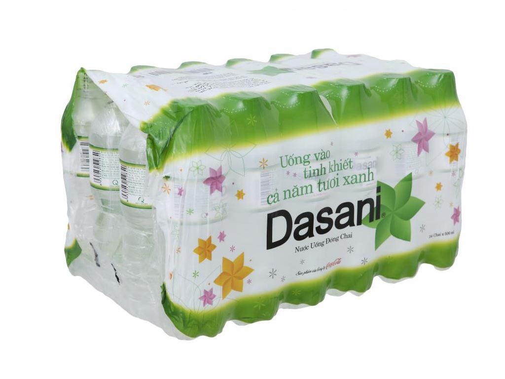24 chai nước tinh khiết Dasani 500ml 1