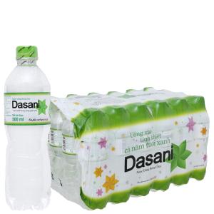 Thùng 24 chai nước tinh khiết Dasani 500ml
