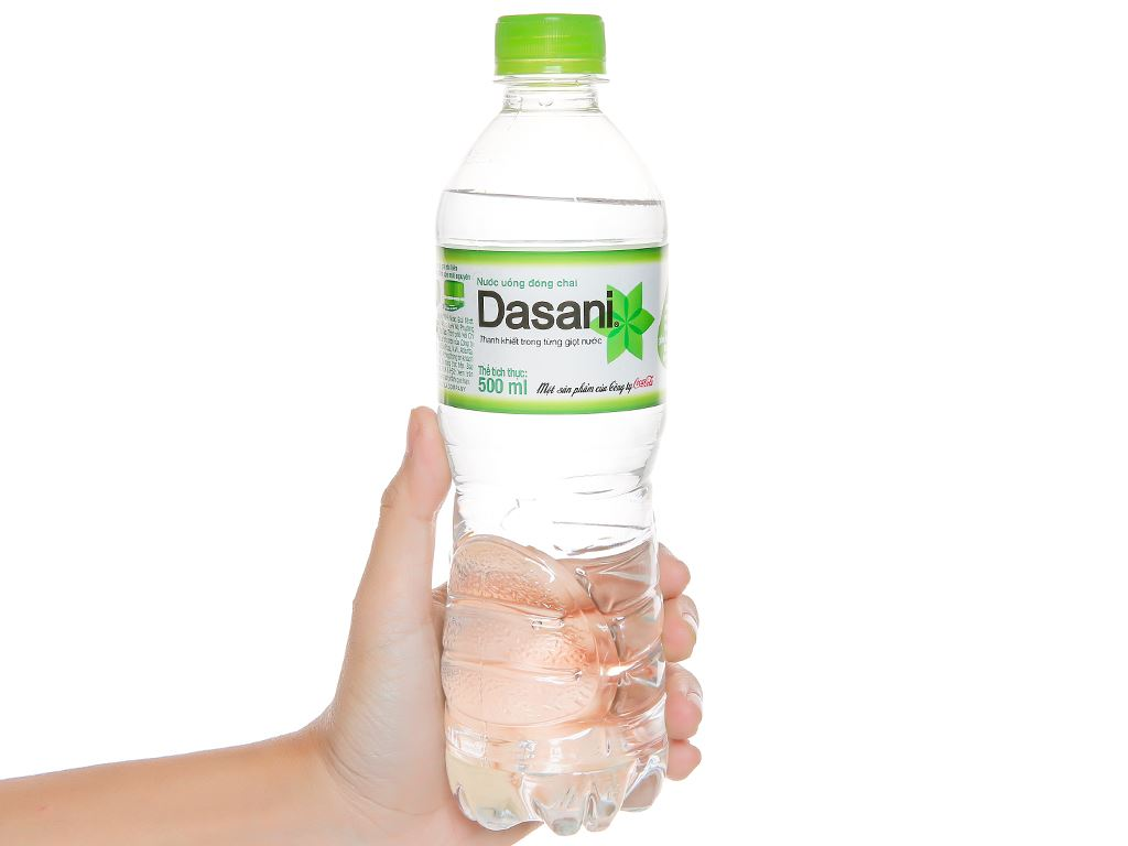 24 chai nước tinh khiết Dasani 500ml 5