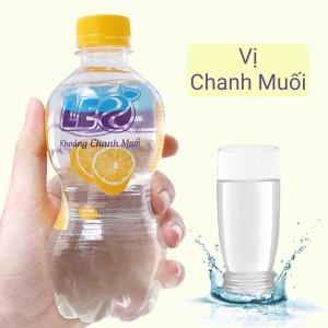 Nước khoáng có ga Leo vị chanh muối 350ml