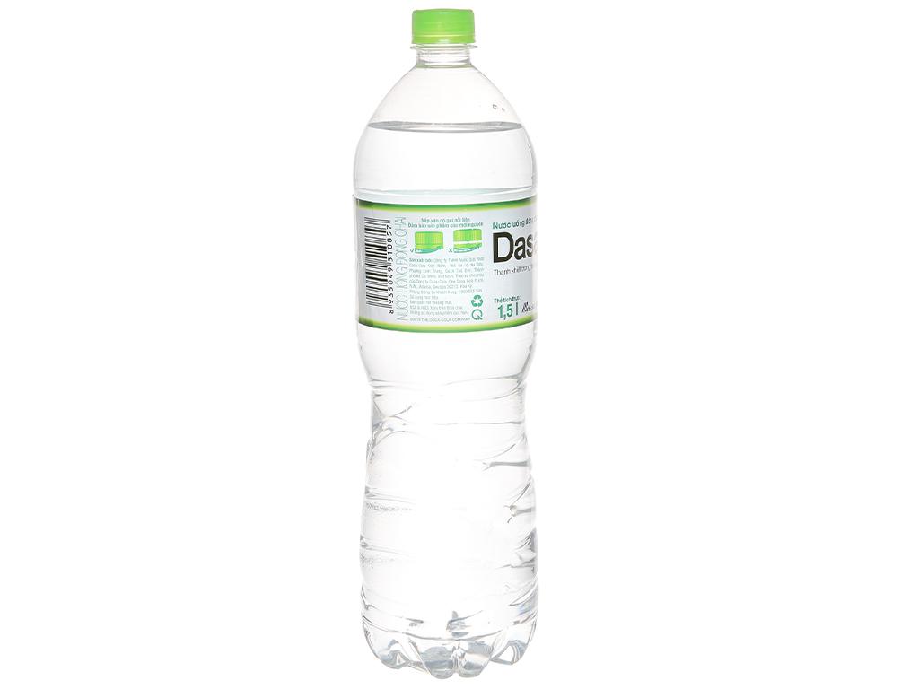 6 chai nước tinh khiết Dasani 1.5 lít 3