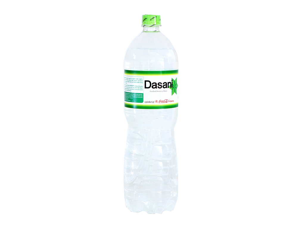 6 chai nước tinh khiết Dasani 1.5 lít 2