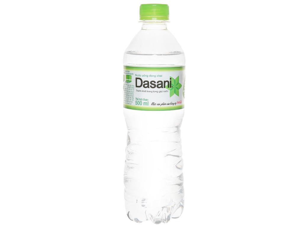 6 chai nước tinh khiết Dasani 500ml 2