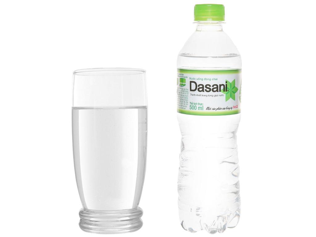 6 chai nước tinh khiết Dasani 500ml 6