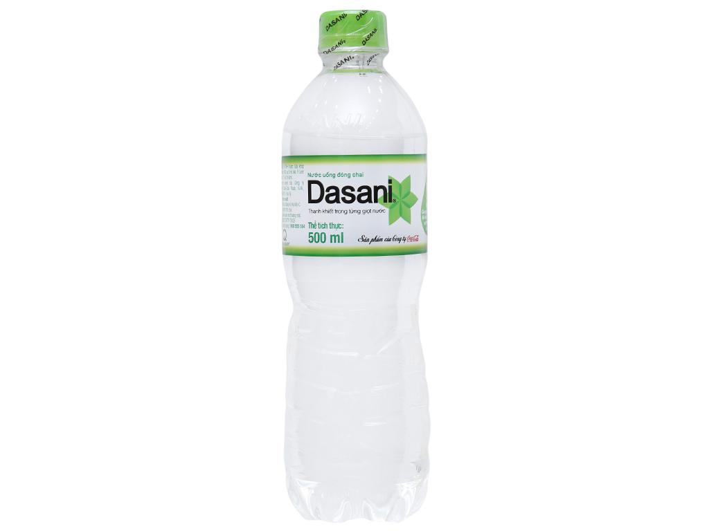 6 chai nước tinh khiết Dasani 500ml 3