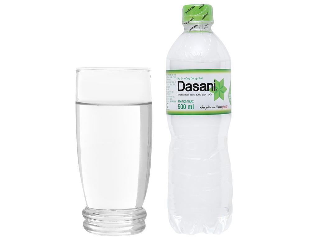 6 chai nước tinh khiết Dasani 500ml 5