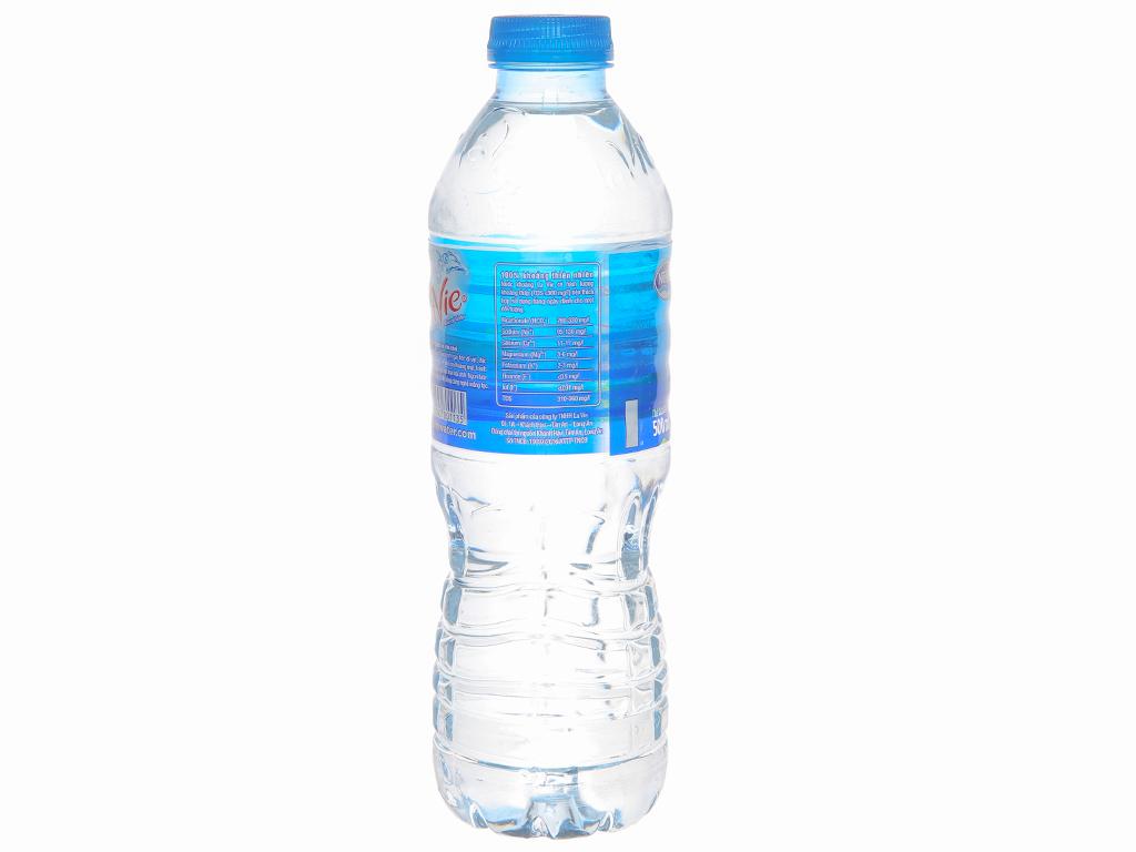 Thùng 24 chai nước khoáng La Vie 500ml 3