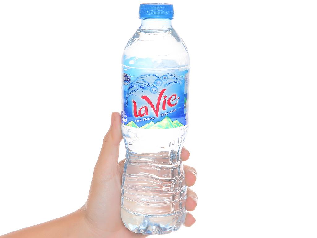 Thùng 24 chai nước khoáng La Vie 500ml 5
