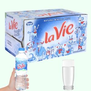 Thùng 24 chai nước khoáng La Vie 500ml