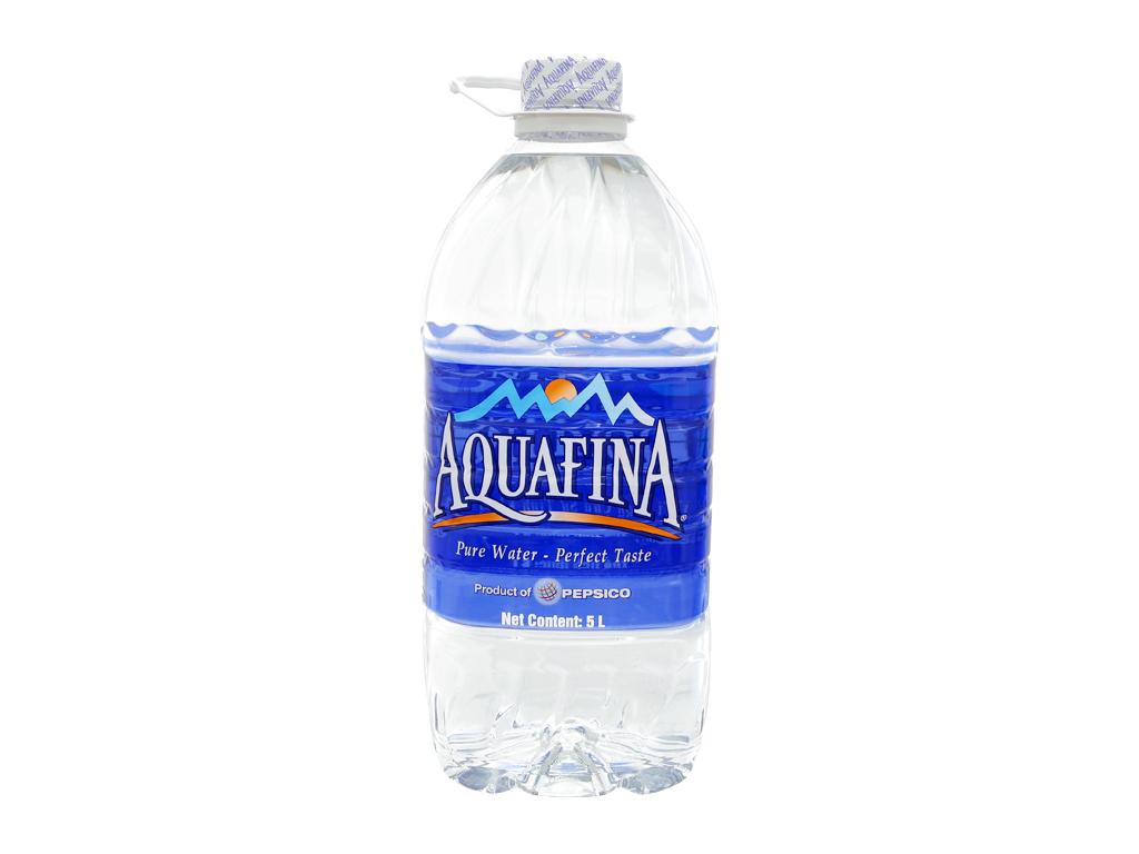 Thùng 4 chai nước tinh khiết Aquafina 5 lít 2