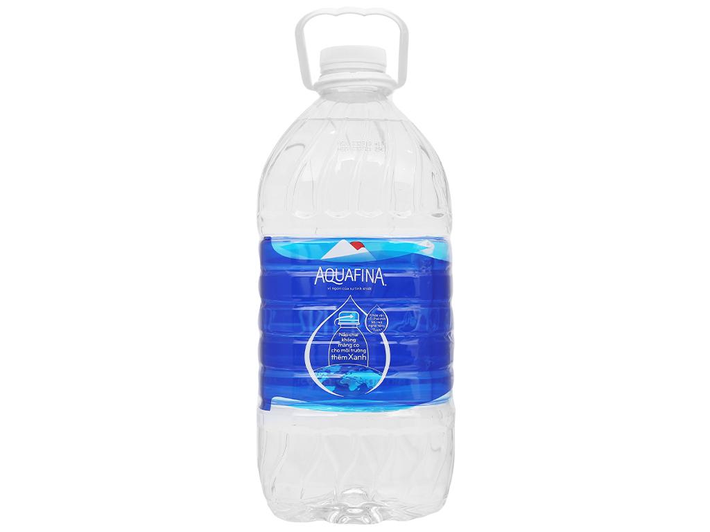 Thùng 4 chai nước tinh khiết Aquafina 5 lít 4