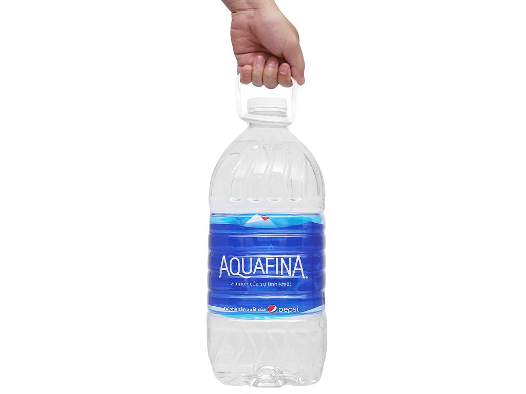 Thùng 4 chai nước tinh khiết Aquafina 5 lít 6