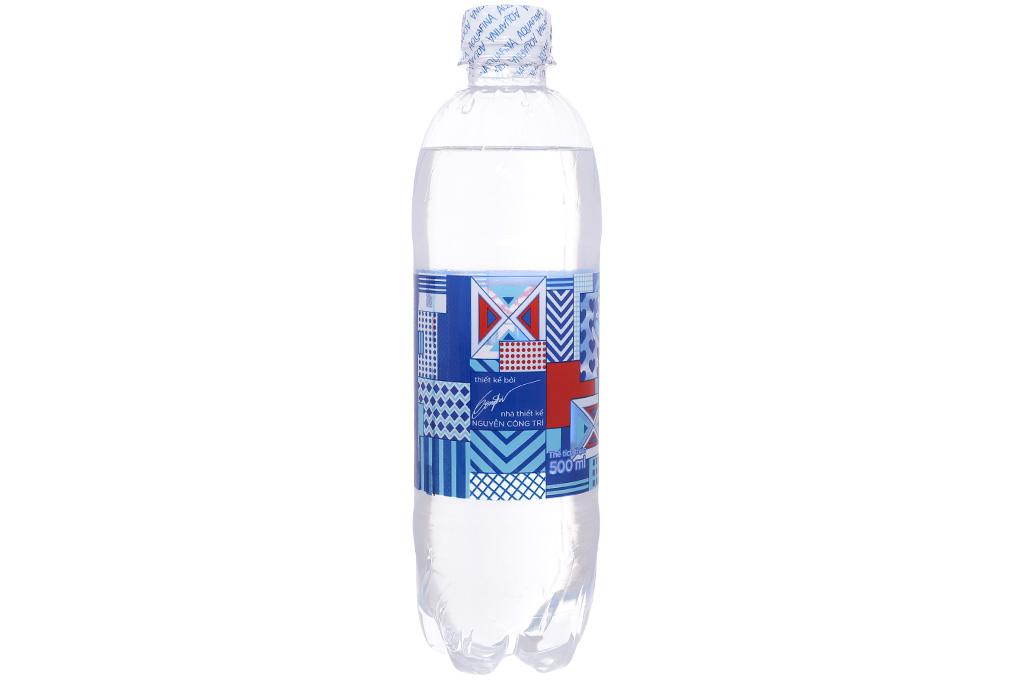 Thùng 24 chai nước tinh khiết Aquafina 500ml 3